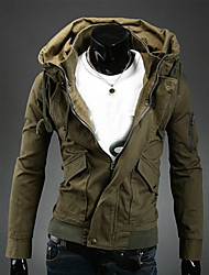 cheap -Man autumn winter jacket coat of cultivate one's morality Leisure long-sleeved fashion jacket GESE12