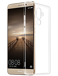 For Transparent Case Back Cover Case Solid Color Soft TPU for HuaweiHuawei P9 Huawei P9 Lite Huawei P9 Plus Huawei P8 Huawei P8 Lite