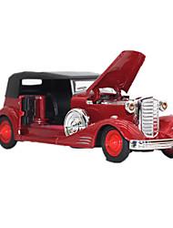 Обучающая игрушка Модели автомобилей Игрушечные машинки Игрушки Автомобиль Металлический сплав Металл 1 Куски Мальчики Девочки Новый год