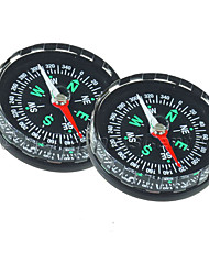 cheap -2Pcs/lot Hiking Outdoor Scouts Kit Plastic Clear Liquid Filled Camping Compass