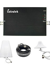 Lintratek® GSM Booster 900 1800 Amplifier Booster GSM 900 DCS 1800 mhz Lintratek Dual Band Signal Booster Full Kits