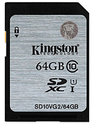 economico -Kingston 64GB scheda SD scheda di memoria UHS-I U1 Class10
