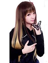 billige -Lolita Parykker Punk Lolita Farvegradient Lolita Parykker 55 CM Cosplay Parykker Patchwork Parykker Til