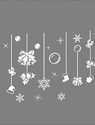 cheap -Window Stickers Window Decals Style New Christmas Gifts Window Glass Decoration PVC Window stickers