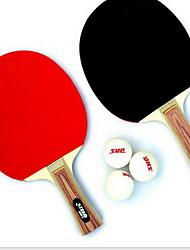 Ping-pong Racchette Ping Pang Legno Manopola  lunga Brufoli