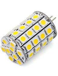 G4 LED Bi-pin Lights Tube 30 SMD 5050 460 lm Warm White Cold White K Dimmable Decorative DC 12 V