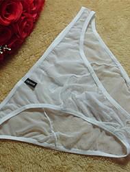 Men Sexy Solid Ultra Sexy Panties Briefs  Underwear,Acrylic