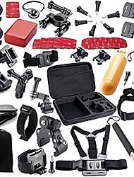 abordables -Accessoires Kit Tout en un Pour Caméra d'action Tous les appareils d'action Gopro 5 Gopro 4 Black Gopro 4 Session Gopro 4 Silver Gopro 4
