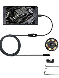 abordables -joyshine 7mm 5m 6LED 2 en 1 endoscope android caméra OTG inspection ip66 micro usb vidéo