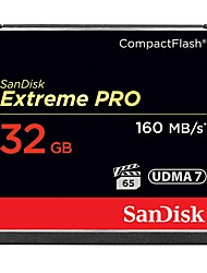 cheap -Sandisk 32GB Compact Flash CF Card memory card Extreme PRO 1067X UDMA7