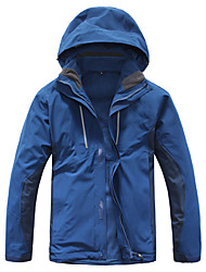 cheap -Men's Hiking Jacket Outdoor Winter Waterproof Thermal / Warm Quick Dry Windproof Ultraviolet Resistant Anti-Eradiation Breathable