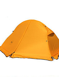 cheap -Naturehike 1 person Backpacking Tent Double Layered Poled Dome Camping Tent Outdoor Portable, Rain-Proof, Keep Warm for Camping / Hiking / Fishing / Beach >3000 mm 205*110*950 cm / Ultra Light (UL)