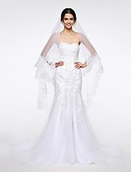 Wedding Veil One-tier Fingertip Veils Net