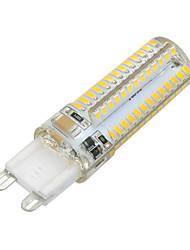 cheap -600 lm G9 LED Corn Lights T 104 leds SMD 3014 Warm White Cold White AC 220-240V