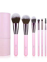 cheap -8pcs Makeup Brushes Professional Makeup Brush Set Nylon / Nylon Brush Portable / Travel / Eco-friendly Wood Big Brush / Middle Brush