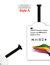 Mindzo Qi Standard 5V1A Style-A Wireless Charger Receiver For All Android Micro USB Style-A Smartphone