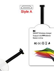 mindzo style un standard de qi 5V1A récepteur chargeur sans fil pour tous les micro usb style un smartphone android