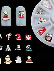 Smuk - Finger - 3D Negle Stickers / Negle Smykker - 6CM - 1box