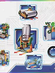 Giocattoli a energia solare Kit fai-da-te Giocattoli scientifici Robot Giocattoli Macchina Robot Pezzi Da ragazzo Regalo