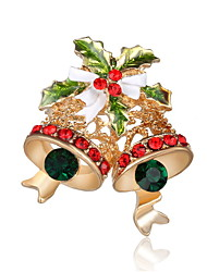cheap -Men's / Women's Brooches - Imitation Diamond Luxury Brooch Gold / Rainbow For Christmas Gifts / Party / Daily