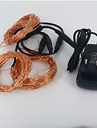cheap -Copper string tree small lantern waterproof suit 30M 300LED 12V 3A power supply