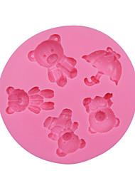 cheap -1pc Novelty For Cake Plastic DIY Cake Molds