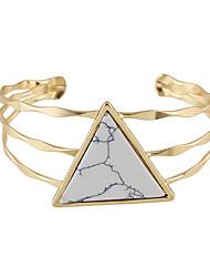 preiswerte -Damen Manschetten-Armbänder Rock Modisch Türkis Aleación Schmuck Weiß Schwarz Blau Schmuck Für Normal 1 Stück