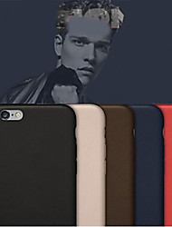 abordables -Coque Pour Apple iPhone 8 iPhone 8 Plus iPhone 6 iPhone 6 Plus Autre Coque Couleur unie Dur faux cuir pour iPhone 8 Plus iPhone 8 iPhone