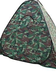 Soaring® 1 osoba Stříška Přístřešky a plachty Dvojitý Camping Tent jeden pokoj skládací stan Dobře větraný Voděodolný Rychleschnoucí