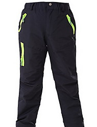 cheap -Men's Women's Children's Hiking Pants Outdoor Waterproof Thermal / Warm Windproof Rain-Proof Breathable Winter Bottoms Camping / Hiking