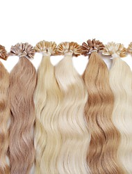Neitsi 20'' 25g/lot Colourful Pre bonded Nail U Tip Fusion Human Hair Extensions
