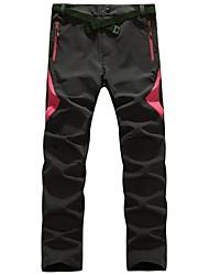 abordables -Mujer Pantalones para senderismo Al aire libre Impermeable, Secado rápido, Resistente al Viento Prendas de abajo Camping y senderismo /