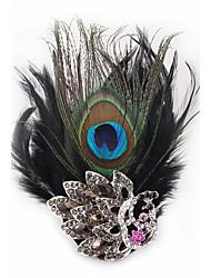 Недорогие -свадебный стиль изящный серебристый покрынный горный хрусталь брошь элегантный стиль