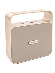 Alto-Falante Bluetooth Sem Fio 2.0 CHPortátil / Exterior / Bult-in mic / Suporte de Cartão de Memória / Suporte FM / disco de suporte usb