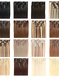 "22"" inch Clip in Futura Hair Extensions - Seven Piece Full Head set - 100 GRAMS of hair per pack"