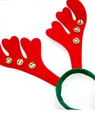 Недорогие -Новогодние подарки Товары для Рождественской вечеринки Товары для отпуска 4Pcs Рождество Текстиль Серебристый