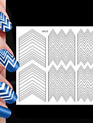 Недорогие -82pcs различные размеры профессиональная модель решений ногтей инструмент # 05