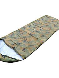 Schlafsack Rechteckiger Schlafsack Einzelbett(150 x 200 cm) -15-20 HohlbaumwolleX75 Jagd Wandern Camping Reisen Draußen