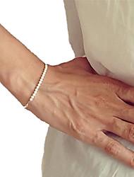 cheap -Shixin® European Pearl 23cm Women's White Pearl Strand Bracelet(1 Pc) Jewelry Christmas Gifts