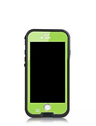 Per iPhone 8 iPhone 8 Plus iPhone 6 iPhone 6 Plus Custodie cover Resistente agli urti A prova di sporco Resistente all'acqua Integrale