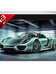 1080P 84 Inch 4:3 Motorized Projector Screen