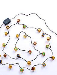 Недорогие -Рождественский декор Праздничные огни Товары для Рождественской вечеринки пластик Мальчики Девочки Игрушки Подарок 1 pcs