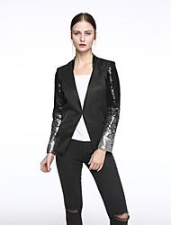 cheap -Women's Sequin Daily Spring Blazer