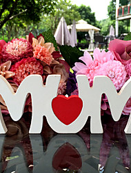 Amazon sold wooden decorations on mother's day Wooden gift to mom furnishing articles Shooting props gift