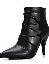 Women's Boots Winter Others Leatherette Dress / Casual Platform Zipper Black Others
