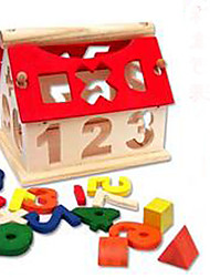 cheap -Building Blocks Educational Toy 1pcs House Novelty Lovely Girls' Boys' Toy Gift