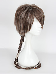 Cosplay Wigs Cosplay Cosplay Brown Long Anime Cosplay Wigs 95cm CM Heat Resistant Fiber Female