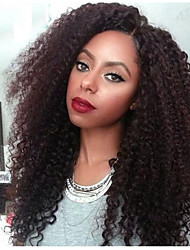 Kinky Curly Wig Glueless Lace Front Human Hair Wigs For Black Women Afro Kinky Curly Lace Front Human Hair Wigs 7A Top Lace Wig