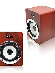 JITENG E-02A  Hot Computer HIFI Speaker Stereo Notebook Desktop Laptop Speakers