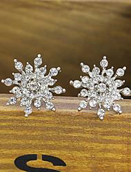cheap -Women's Stud Earrings - Gold / Silver For Wedding / Party / Halloween